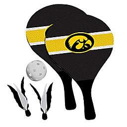 University of Iowa Hawkeyes 2-in-1 Birdie Pickleball Paddle Game Set