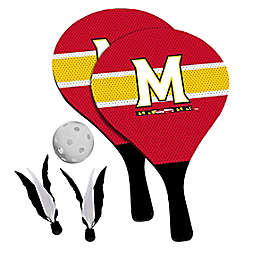 University of Maryland Terrapins 2-in-1 Birdie Pickleball Paddle Game Set