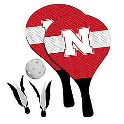 University of Nebraska Cornhuskers 2-in-1 Birdie Pickleball Paddle Game Set