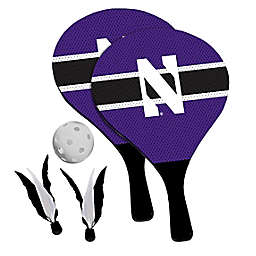Northwestern University Wildcats 2-in-1 Birdie Pickleball Paddle Game Set