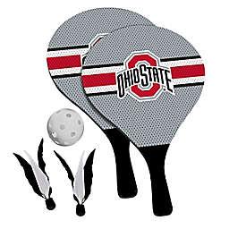 Ohio State University Buckeyes 2-in-1 Birdie Pickleball Paddle Game Set