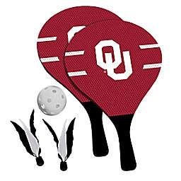 University of Oklahoma Sooners 2-in-1 Birdie Pickleball Paddle Game Set