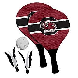 University of South Carolina Gamecocks 2-in-1 Birdie Pickleball Paddle Game Set