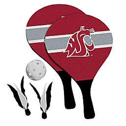 Washington State University Cougars 2-in-1 Birdie Pickleball Paddle Game Set
