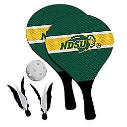 North Dakota State University Bison 2-in-1 Birdie Pickleball Paddle Game Set