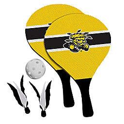 Wichita State University Shockers 2-in-1 Birdie Pickleball Paddle Game Set