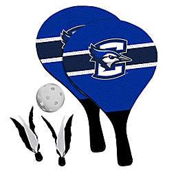 Creighton University Bluejays 2-in-1 Birdie Pickleball Paddle Game Set