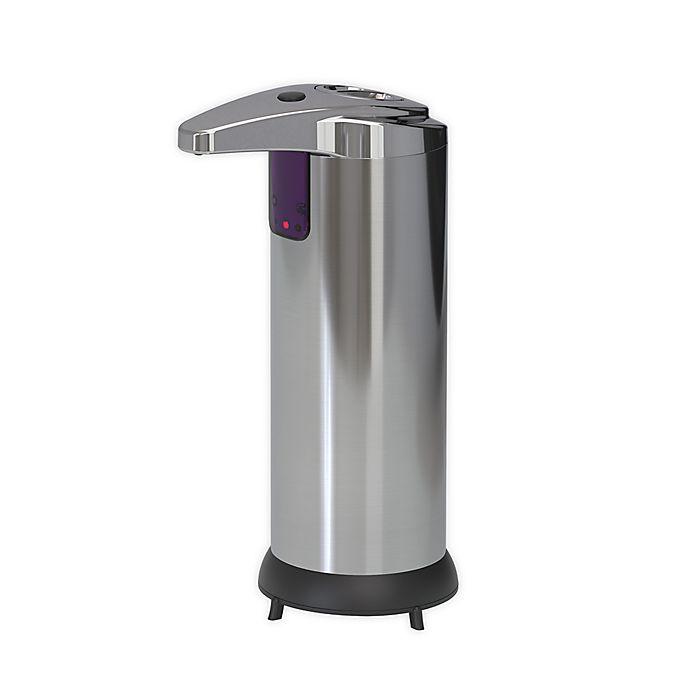 Alternate image 1 for Touchless Stainless Steel Soap Dispenser