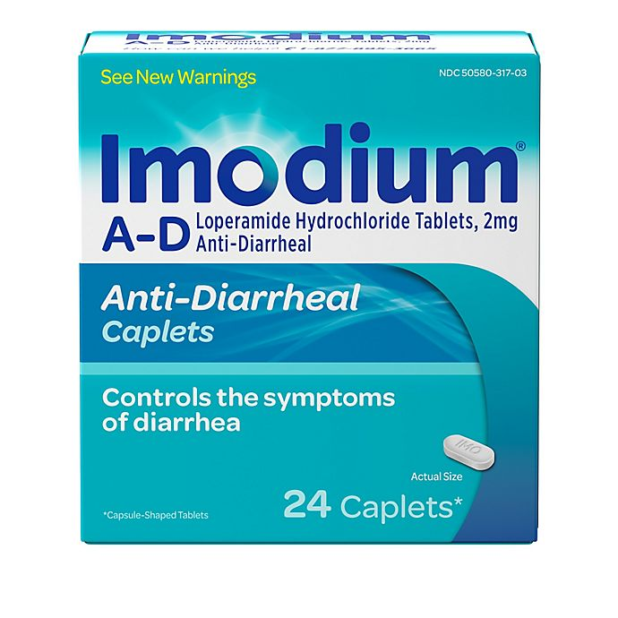 Alternate image 1 for Imodium® 24-Count A-D Caplets