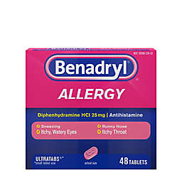 Benadryl 48-Count Allergy Ultratab Tablets