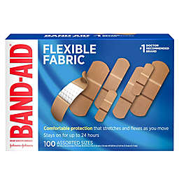 Band-Aid® 100-Count Flexible Fabric Adhesive Bandages