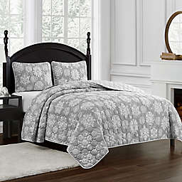 Marquis® by Waterford Crystal Snowflake 3-Piece Reversible Quilt Set