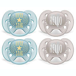 Philips Avent 6-18M Ultra Soft Pacifiers (4-Pack)
