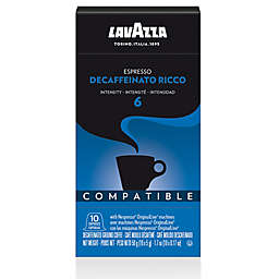 LavAzza® Decaffeinato Ricco Espresso Capsules for Nespresso® OriginalLine Machines 10-Count