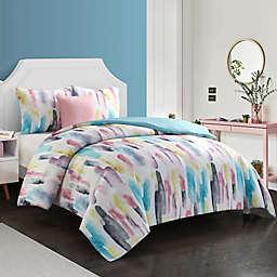 Nanshing Sherry 4-Piece Comforter Set in Blue