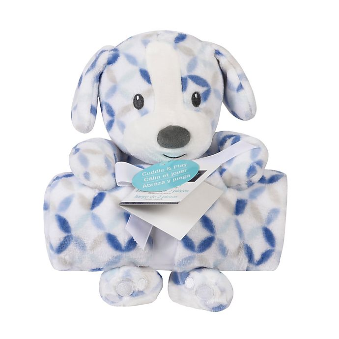 Alternate image 1 for Baby's First by Nemcor® Blanket and Puppy Plush Toy Set