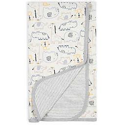 Gerber® Organic Cotton Jungle Reversible Baby Blanket
