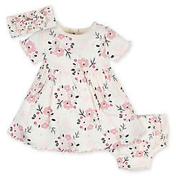 Gerber® 3-Piece Wild Flower Dress Set in Ivory