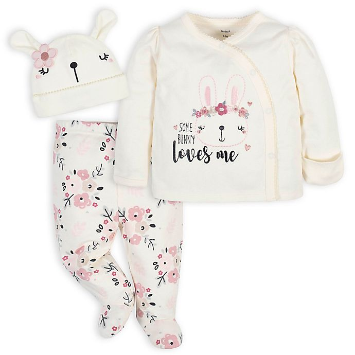 Alternate image 1 for Gerber® 3-Piece Flowers Take Me Home Set in Pink