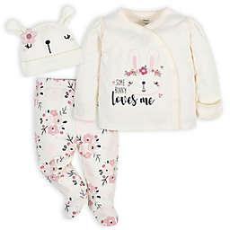 Gerber® 3-Piece Flowers Take Me Home Set in Pink