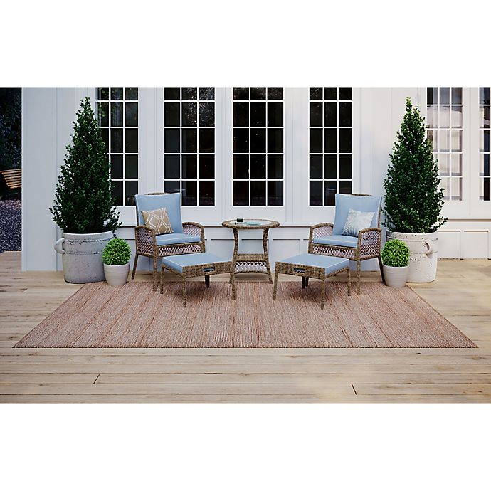 Alternate image 1 for Bee & Willow™ Home Providence Metal and Wicker Outdoor Furniture Collection