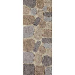 "Chesapeake Pebbles 24"" x 60"" Bath Runner in Amethyst"