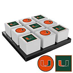 University of Miami Hurricanes Tic-Tac-Toe Game Set