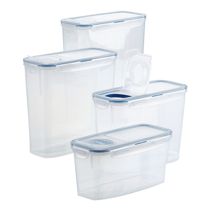 Alternate image 1 for Lock N' Lock Easy Essentials 8-Piece Pantry Food Container Set