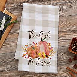 Autumn Watercolor Kitchen Towel