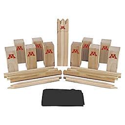 University of Minnesota Golden Gophers Kubb Viking Chess Game Set