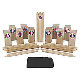 MLB Chicago Cubs Kubb Viking Chess Game Set