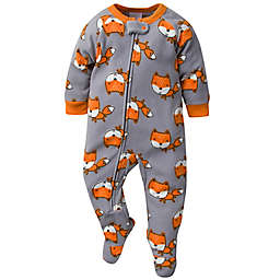 Gerber® Fox Fleece Pajama in Grey