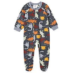Gerber® Dinosaur Fleece Pajama in Navy