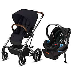 Cybex Balios S Lux & Aton 2 Travel System in Black