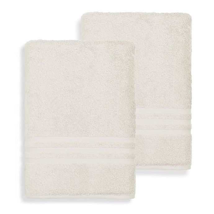 Alternate image 1 for Linum Home Textiles Denzi Turkish Cotton Bath Sheets (Set of 2)