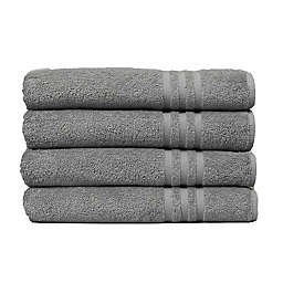 Linum Home Textiles Denzi Turkish Cotton Bath Towels (Set of 4)