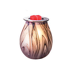 AmbiEscents™ Thunder Full-Size Glass Wax Warmer in Grey
