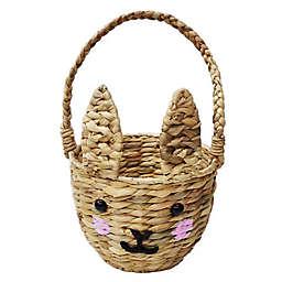 Woven Bunny Easter Basket