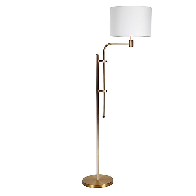 Alternate image 1 for Hudson&Canal® Polly Adjustable Height Floor Lamp