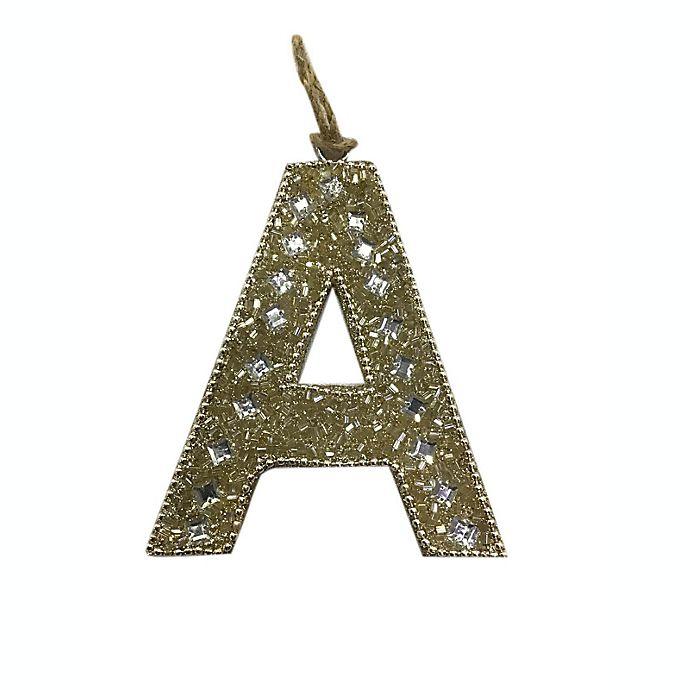 Alternate image 1 for Letter Block Ornament