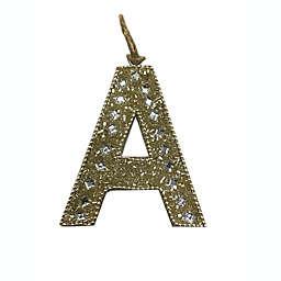 Letter Block Ornament