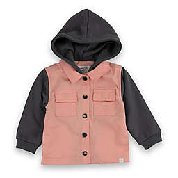 Sovereign Code® Size 18 Two-Tone Hoodie in Pink/Charcoal