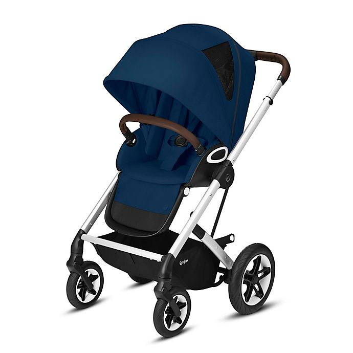 Alternate image 1 for Cybex Talos S Lux Single Stroller in Navy