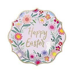 "Gartner Studios® 10-Count ""Happy Easter"" Foil Lunch Plates"
