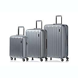 CHAMPS Runway 3-Piece Hardside Luggage Set