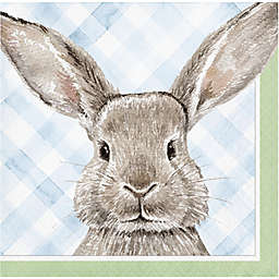 """Creative Converting™ """"Happy Easter"""" Bunny Beverage Napkins (Set of 20)"""