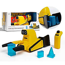 Sharper Image® 5-Piece Remote Control Construction Gripper Robot Playset in Yellow
