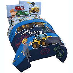 Blippi Machine Fun 4-Piece Toddler Bedding Set