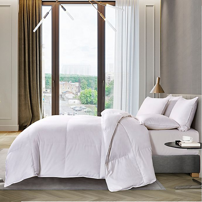 Alternate image 1 for 1000-Thread-Count Pima Cotton Twin Down Comforter in White