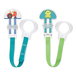MAM Love & Affection I Love Mommy Paci Clip with Leash Set